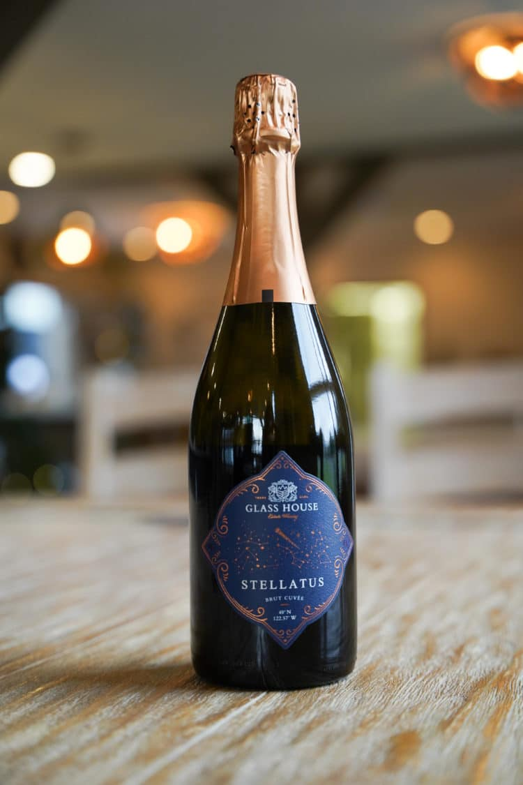 Stellatus Brut Cuvee by Glass House Estate Winery